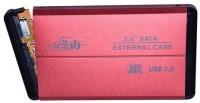 Adnet HDD 3.0 enclosure 2.5 External Hard Drive Enclosure(For 2.5 Inch Sata Hard Drive, Red)