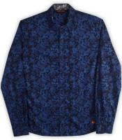 Provogue Boy's Printed Casual Shirt