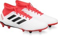 ADIDAS PREDATOR 18.3 FG Football Shoes For Men(White)