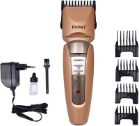 Kemei KM 5116 Rechargeable Electric Professional Hair Clipper for men Adjustable salon Cordless Grooming Kit for Men(Gold)