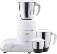 Bajaj gx6 500 Mixer Grinder(White, 3 Jars)