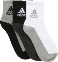 Adidas uomini solidi caviglia lunghezza calzini prezzo più basso in online, india