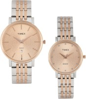 Timex TW00PR219  Analog Watch For Couple