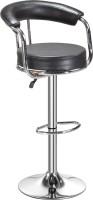 Da URBAN Classic Leatherette Bar Stool(Finish Color - Black)