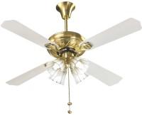 View V-Guard VGL GOLD (4 blade&4 Light) 4 Blade Ceiling Fan(Gold) Home Appliances Price Online(V Guard)