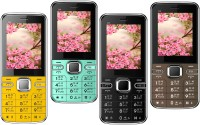 1+1=2 D4 Pack of Four Mobiles(Yellow $$ Black $$ Blue $$ Coffee) - Price 2849 28 % Off
