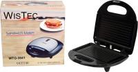 Wis Tec 1 Slice Snack Magic Sandwich Maker Toast(Black)