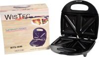 Wis Tec 4 Slice Snack Magic Sandwich Maker Toast(Silver)