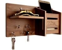 7CR 5050 Wooden Wall Shelf(Number of Shelves - 1, Brown)