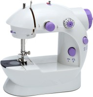 View Baseus B 4 In 1 Mini Sewing Machine With Adapter And Foot Pedal Electric Sewing Machine( Built-in Stitches 2) Home Appliances Price Online(Baseus B)
