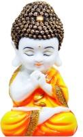 Craft Junction Handcrafted Little Baby Monk Decorative Showpiece  -  20 cm(Polyresin, Multicolor)