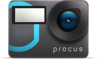 PROCUS Action Camera EPIC 4K dual touchscreen Sports and Action Camera(Black, 12 MP)