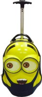 PRINCE TOYS CUTE CARTOON MINIONS KIDS TRAVEL TROLLEY BAG ( custome labeled thickening carton) Expandable  Cabin Luggage - 18 inch(Multicolor)