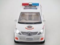 CENTY INNOVA POLICE CAR FOR KIDS(White)