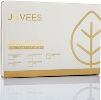 Jovees 24 Carat Gold Facial Mini Kit 75 g(Set of 5)