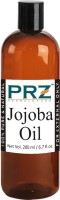 PRZ Jojoba Cold Pressed Carrier Oil (200ML) - Pure Natural & Therapeutic Grade Oil For Aromatherapy Body Massage, Skin Care & Hair ReGrowth Hair Oil(200 ml)