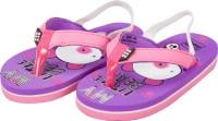 Meemee Boys & Girls Slip On Slipper Flip Flop(Purple)