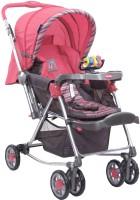 Sunbaby Pink Abi Stroller with Rocking(3, Pink)