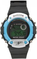 Sonata 7982PP04  Digital Watch For Men