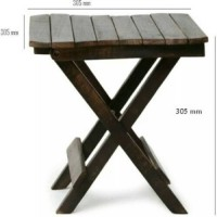 OnlinePurchas coffee table Stool(Brown)