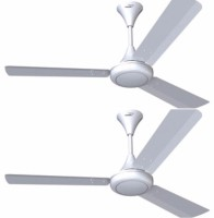 View V-Guard Glado 400 3 Blade Ceiling Fan(Brown, Ivory, White) Home Appliances Price Online(V Guard)