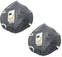 Vezual 3M 9004GV ( 2 Masks ) for protection against Pollution & Dust Mask and Respirator - Price 148 70 % Off