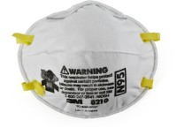 Vezual 3M 8210 N95 NOISH APPROVED RESPIRATOR (Pack of 1) Mask and Respirator