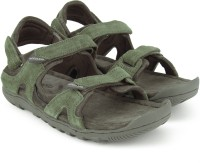 Woodland Men Olive GREEN Sandals