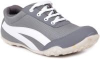 TEN TEN White Fabric Casual Shoes Sneakers For Women(White)