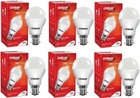 Eveready 9 W Globe B22 LED Bulb(White, Pack of 6)