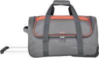 Safari (Expandable) GRIDRL55RLGRE Duffel Strolley Bag(Grey)