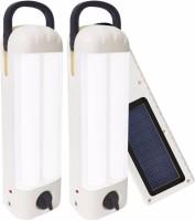 View Eye Bhaskar 22 LED (Set of 2) with Charger Rechargeable Solar Lights(White) Home Appliances Price Online(Eye Bhaskar)