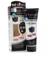 squared CHARCOAL MASK CREAM FOR DAILY POLLUTION FREE SKIN, BLACK HEAD REMOVE, DEEP CLEANSING, OIL CONTROL(130 ml) - Price 104 73 % Off