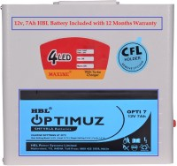 View Maxine CFL HOME UPS - Metal Body With HBL Battery 45w Square Wave Inverter Home Appliances Price Online(Maxine)