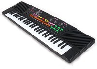 YIFAN Kids Piano, 54 Key Electronic Keyboard With Microphone And Piano Sore Stand Musical Toyfor Children (Type 5468)(Multicolor)