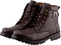 BJOS Rocking Long Boots For Men(Brown)
