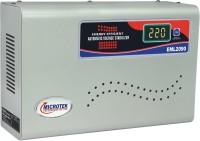 View Microtek EML2090 Voltage Stabilizer For Mainline (6 Amps) (100V ~ 290V) Mainline Stabilizer(Grey) Home Appliances Price Online(Microtek)