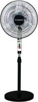 View Crompton Wind 3 Blade Pedestal Fan(Black) Home Appliances Price Online(Crompton)
