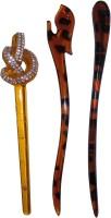 Majik Golden Combo of Multi Color Juda Sticks Bun Stick(Multicolor) - Price 460 77 % Off
