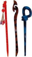 Majik Golden Combo of Multi Color Juda Sticks Bun Stick(Multicolor) - Price 450 77 % Off