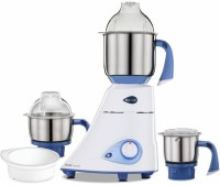Preethi MG 214/002 750 W Mixer Grinder (3 Jars, White, Blue)