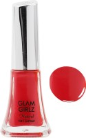 Glam Girlz Natural Stylist Ruby Pink Gel Nail Paint, 9 ml Pink(9 ml) - Price 129 56 % Off