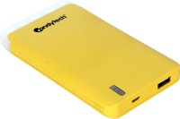 Candytech 7500 mAh Power Bank (CT-75, 7500MAH Fast Charging)(Yellow, Lithium Polymer)
