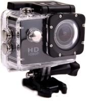 HBNS action camera 1080p Sports Camera & Micro SD Card Slot Sports and Action Camera Sports and Action Camera(Black 12 MP)