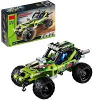 Wishkey Desert Racer Pullback Technic Car 148 Pcs Building Block Set(Multicolor)