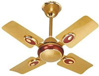 View Rok On 600 mm sweep ceiling fan (24'') small wonder Golden Cherry 4 Blade Ceiling Fan(gold) Home Appliances Price Online(Rok On)