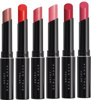 Avon Anew Lip Stylo Lipstick pack of 6(Forever Pink, Frisky Red, Rose Creame, cappucino, Lasting Pink, Sunset, 1.8 g)