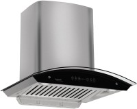 Hindware cleo 60 Wall and Ceiling Mounted Chimney(black 1200)