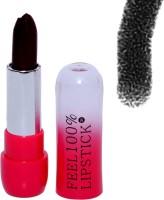 Janie Skyedventures Feel 100% Black Creamy lip stick (Car-034)(8 g, Black) - Price 109 81 % Off