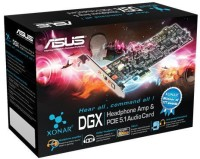 Asus Xonar DGX PCIe Internal Sound Card(5.1 Audio Channel)